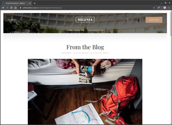 Image Site de réservation pour hotel et gîtes