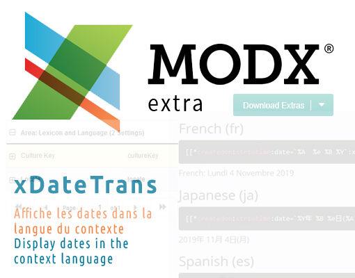 xDateTrans : afficher les dates dans différentes langues