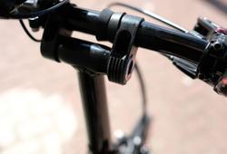 Stem-fork rubber protection