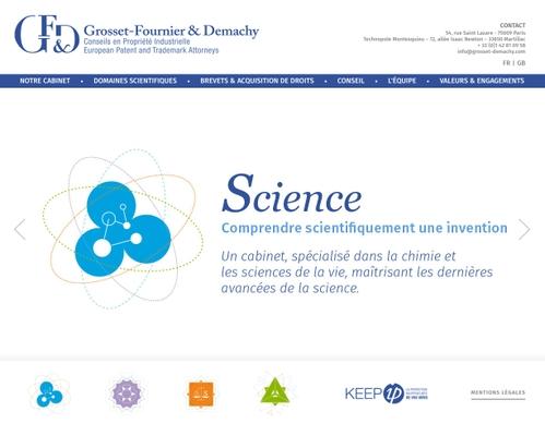 Image Grosset Fournier & Demachy / Page d'accueil