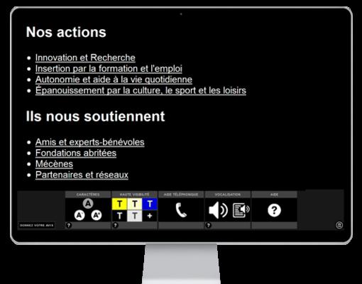 Kit accessibilité internet Itchikai