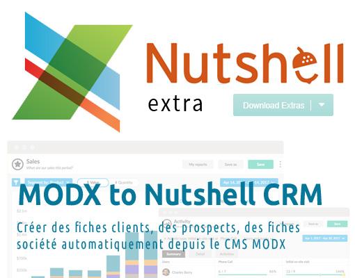 MODX X Nutshell CRM
