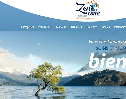 Zenavie (page d'accueil)